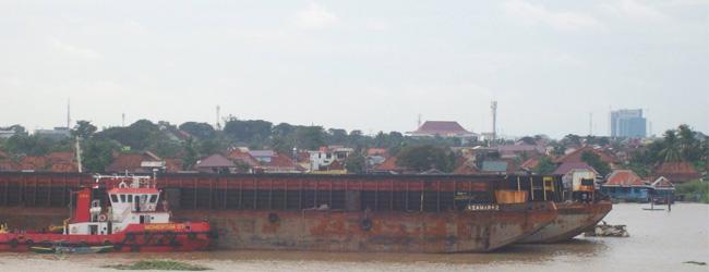 Pelabuhan Boom Baru, Palembang (Fotografer: Agus Widjiantoro/NMN)